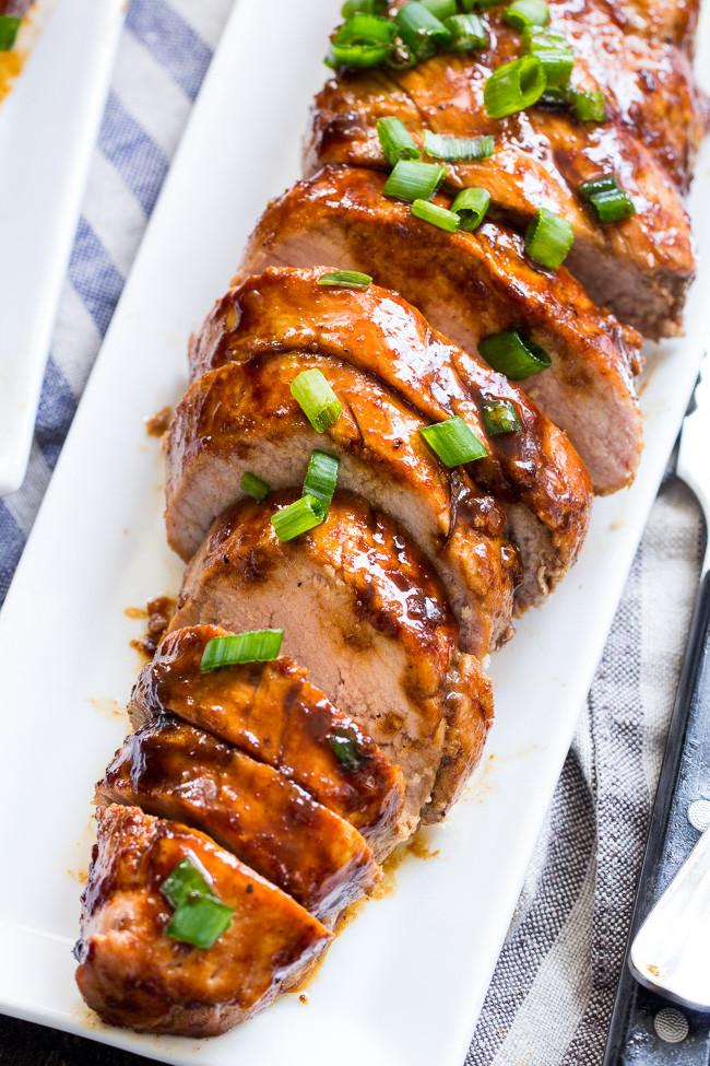 Easy Sauces For Pork Tenderloin  Paleo Pork Tenderloin with Teriyaki Sauce Whole30