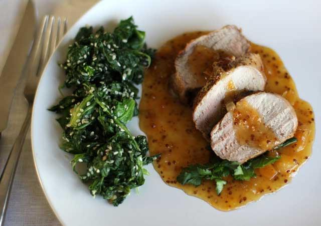 Easy Sauces For Pork Tenderloin  Roast Pork Tenderloin Recipe with Apricot Sauce Video Recipe