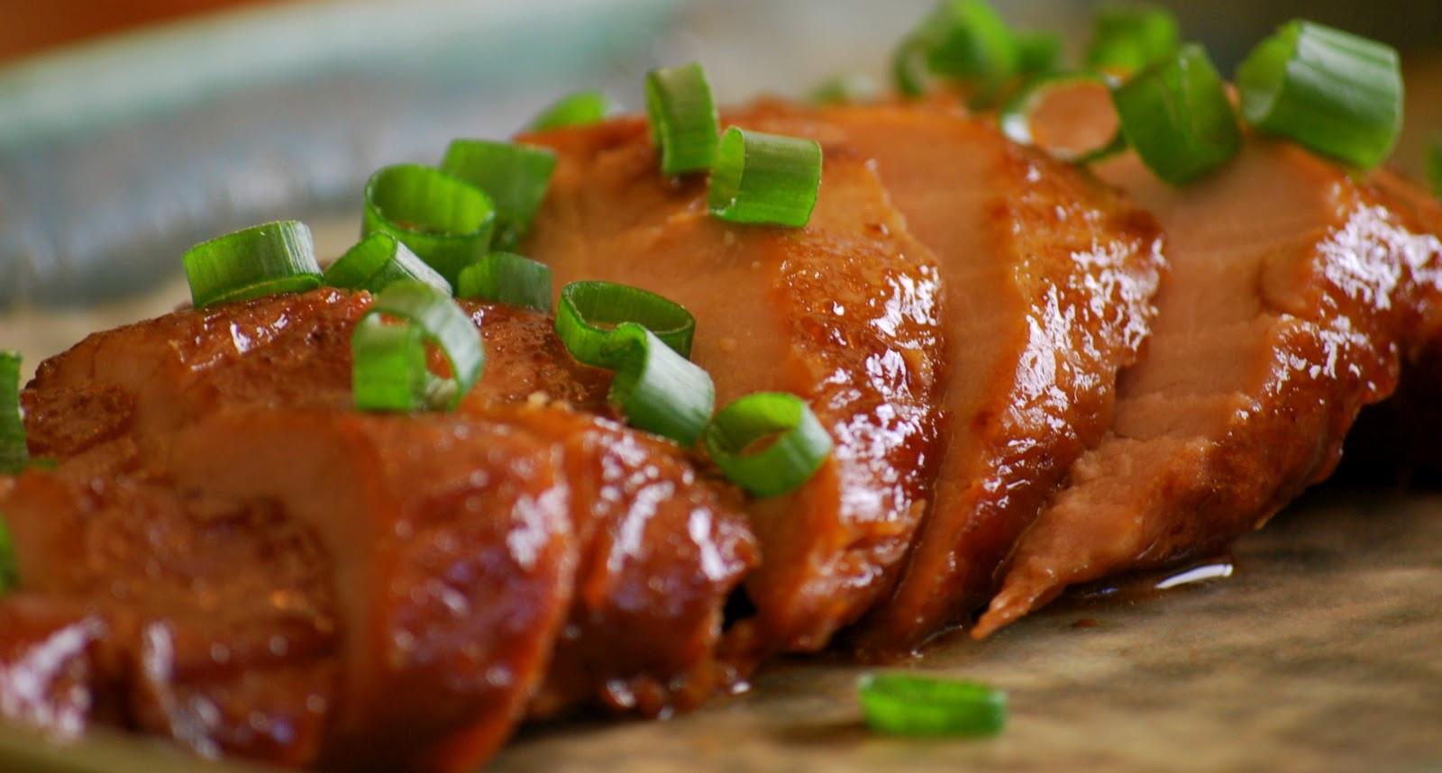 Easy Sauces For Pork Tenderloin  Pork Tenderloin with Hoisin Sauce Amanda Jane Brown