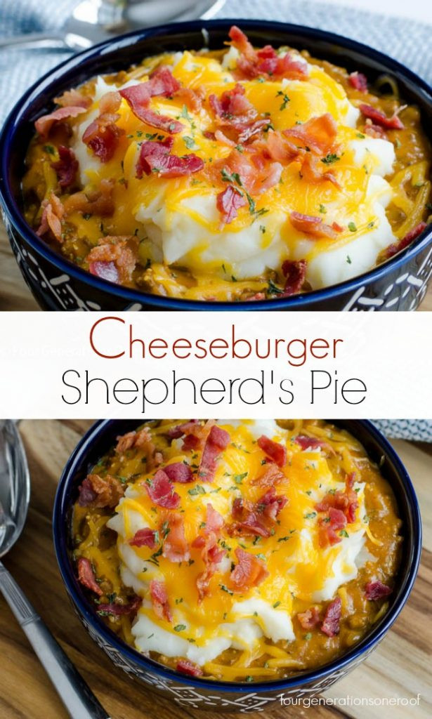 Easy Shepherd'S Pie With Instant Mashed Potatoes  Mom s Single Serve Instant Potato Shepherd s Pie Four