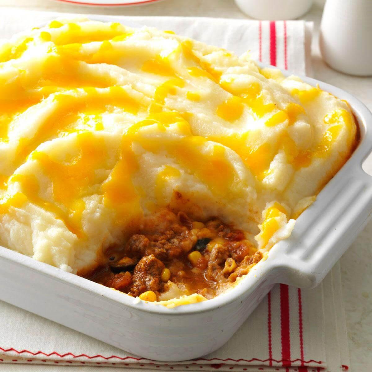 Easy Shepherd'S Pie With Instant Mashed Potatoes  Spicy Shepherd s Pie Recipe