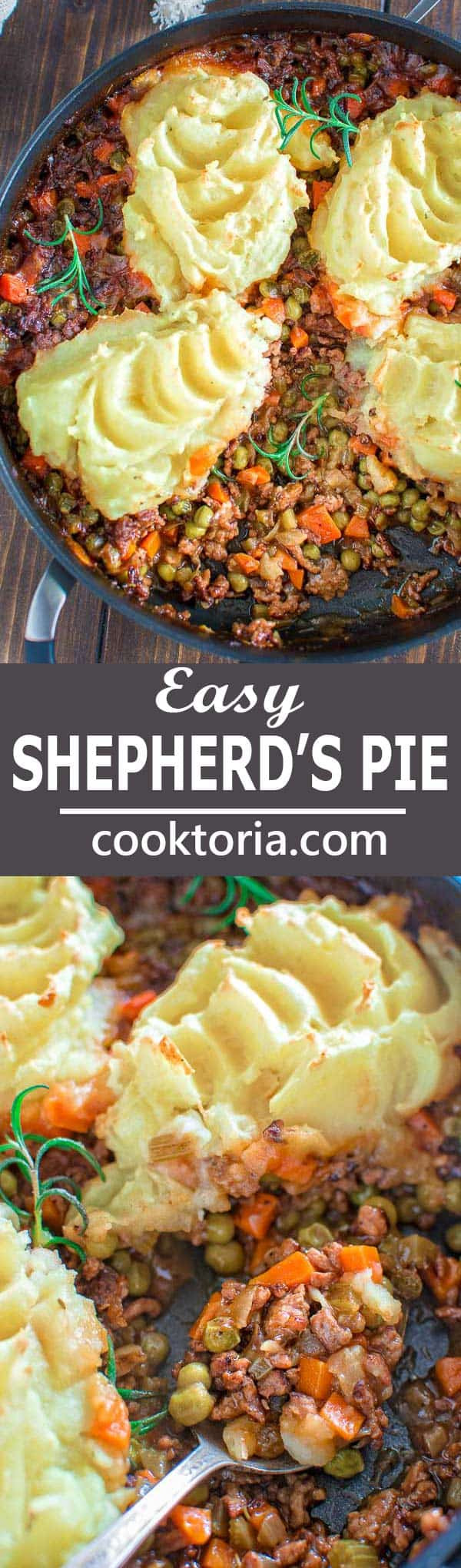 Easy Shepherd'S Pie With Instant Mashed Potatoes  easy shepherd s pie with instant mashed potatoes