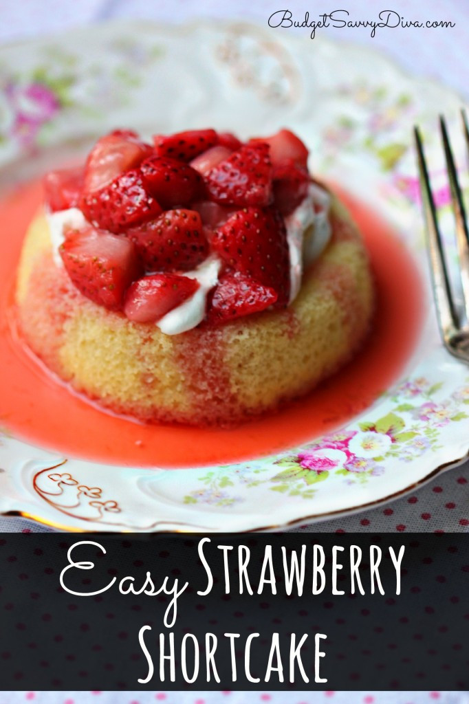 Easy Shortcake Recipe  Easy Strawberry Shortcake Recipe