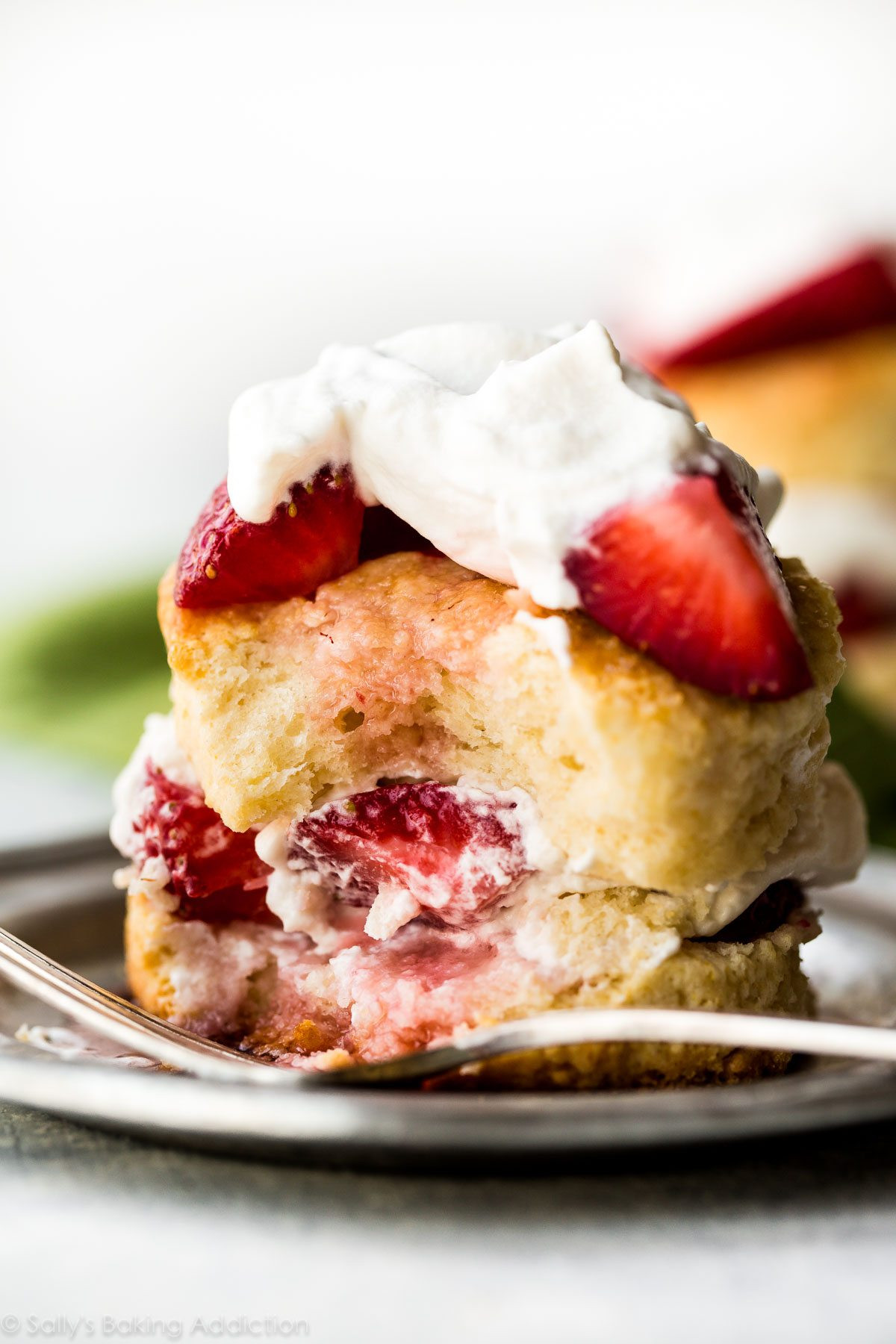 Easy Shortcake Recipe  Easy Homemade Strawberry Shortcake Sallys Baking Addiction