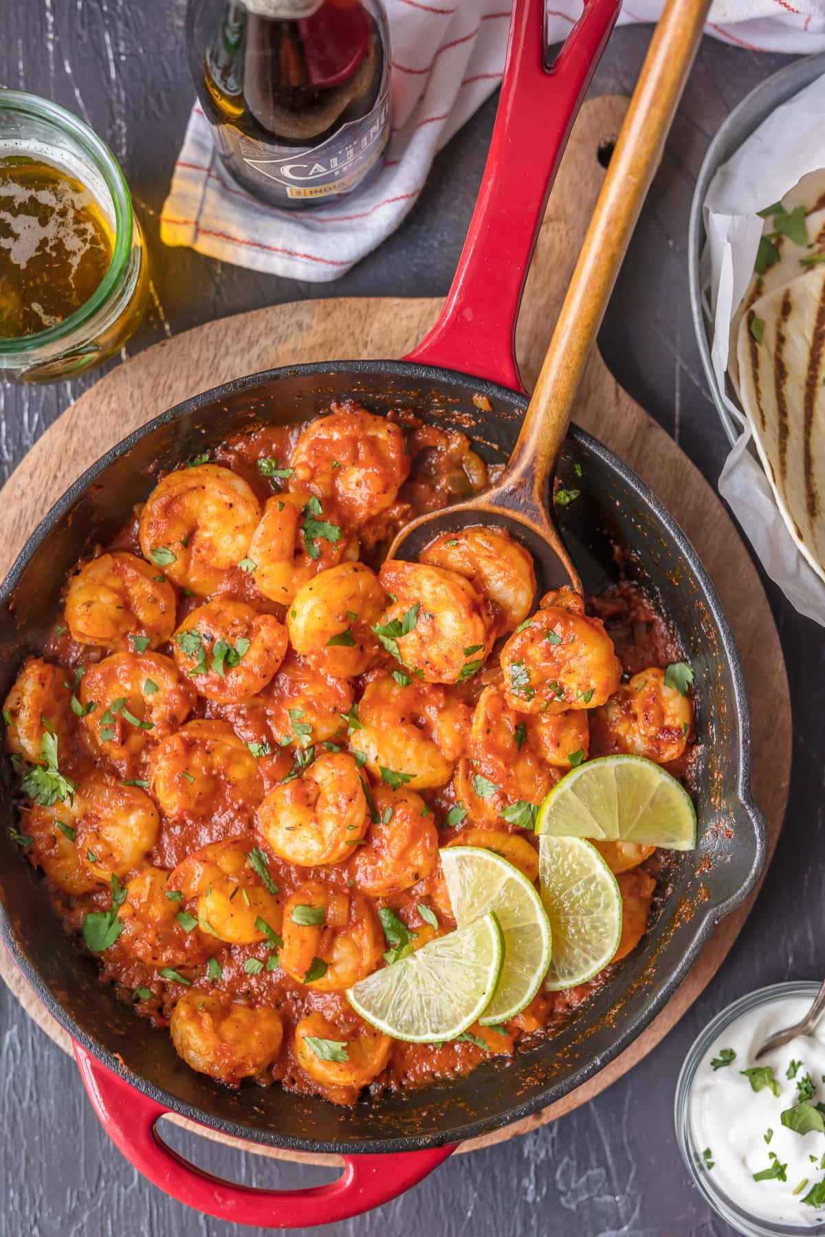 Easy Shrimp Dinners  Skillet Chipotle Shrimp Easy Spicy Shrimp [VIDEO
