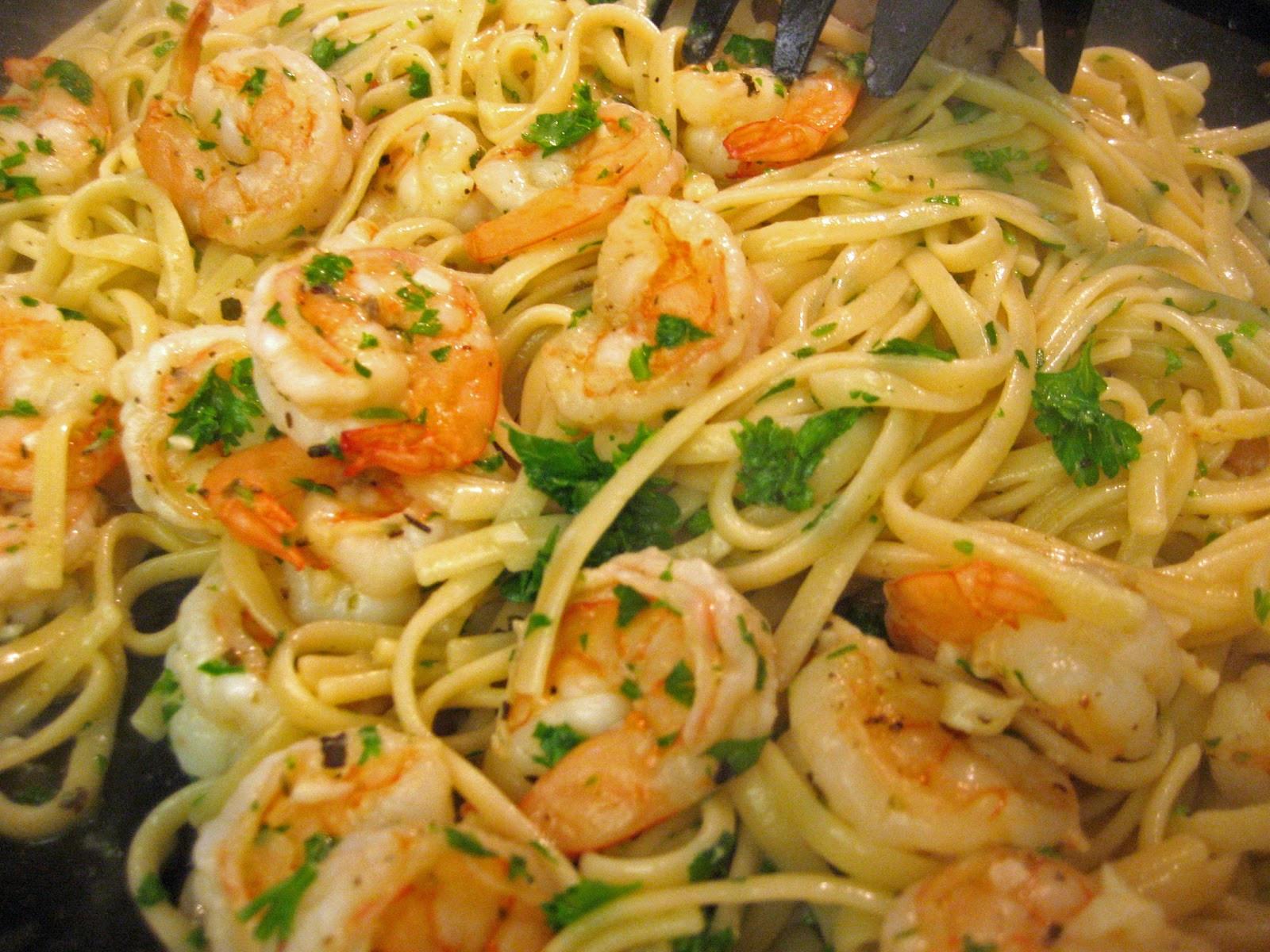 Easy Shrimp Pasta  creamcheeseandfeelings Simple shrimp pasta