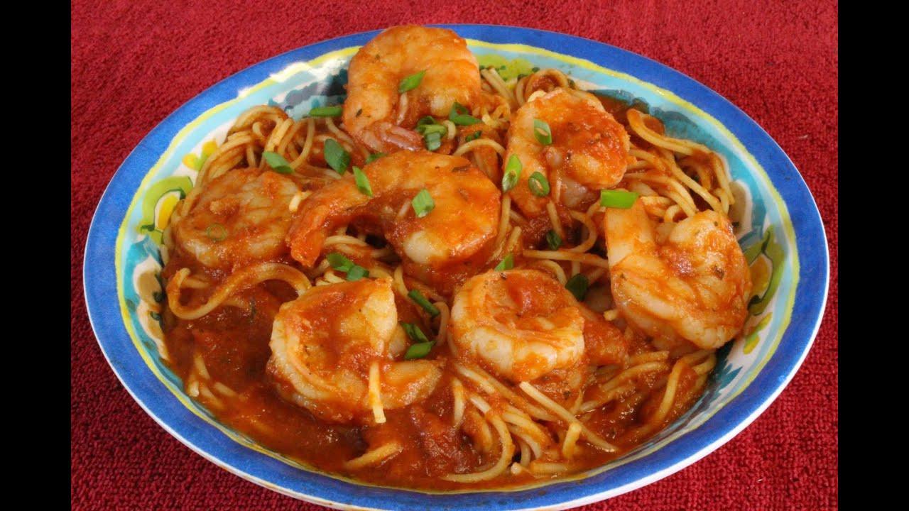 Easy Shrimp Pasta  Best Easy Shrimp Spaghetti Fast and Easy Shrimp Pasta