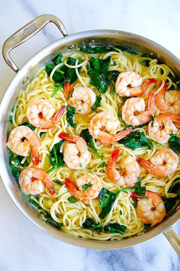 Easy Shrimp Pasta  Creamy Shrimp Pasta