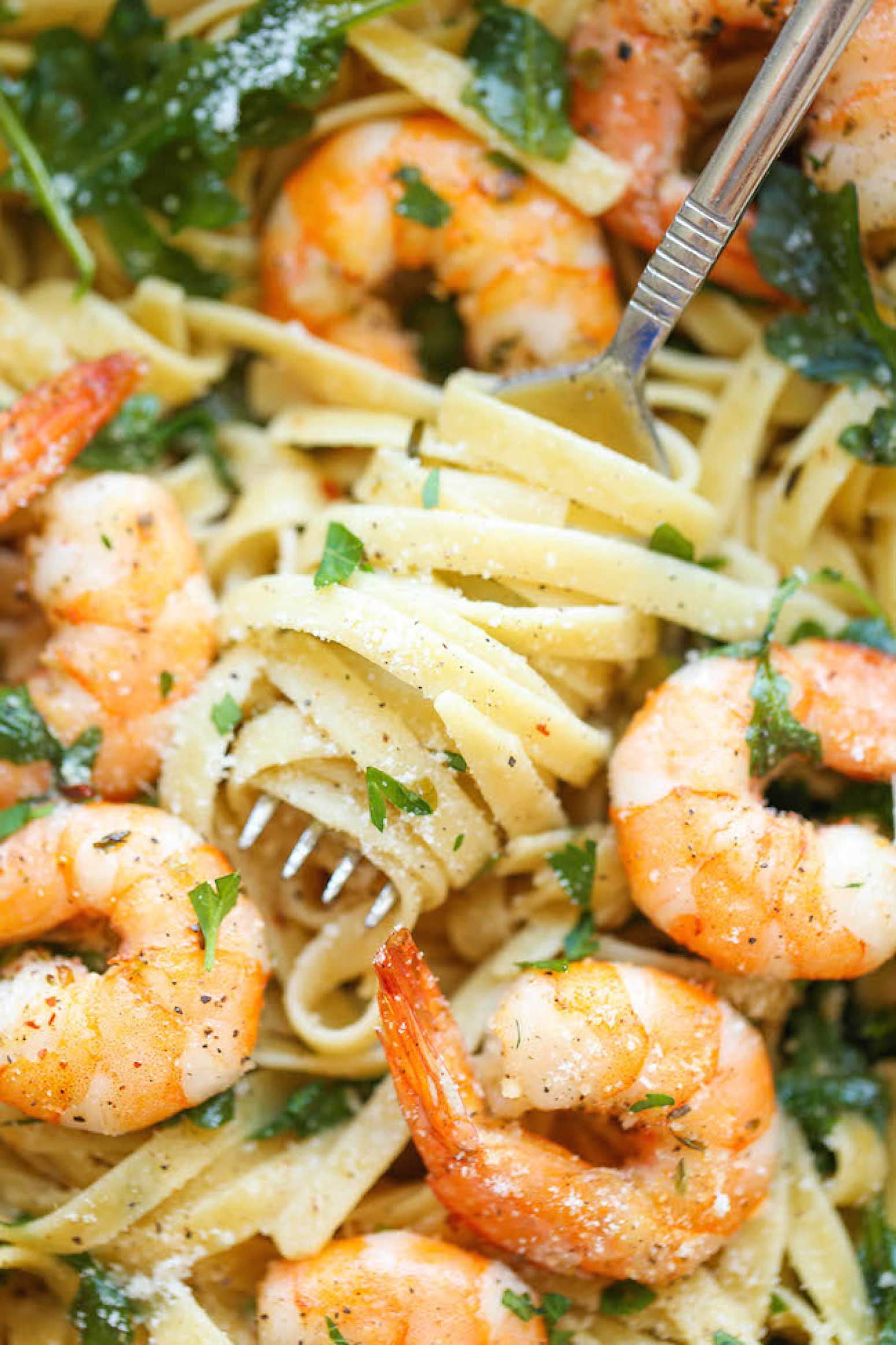 Easy Shrimp Pasta  Garlic Butter Shrimp Pasta Recipe