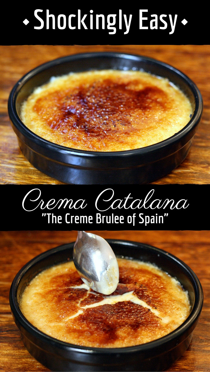 Easy Spanish Dessert Recipes  My Homemade Spanish Crema Catalana Recipe Better Than