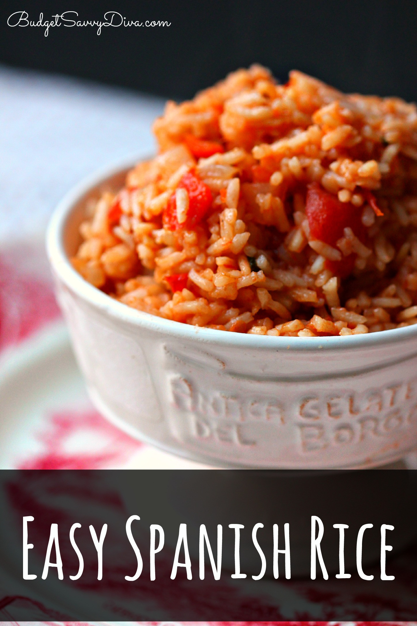 Easy Spanish Rice  10 Healthy Side Recipes Roundup