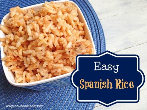 Easy Spanish Rice  The Best Sour Cream Chicken Enchiladas Coupon Closet