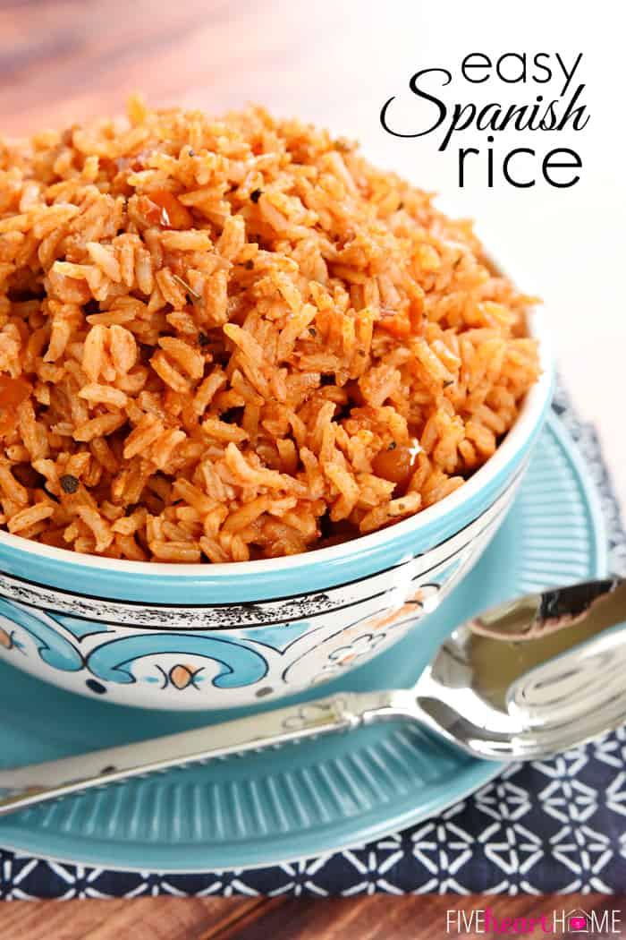 Easy Spanish Rice  Easy Spanish Rice