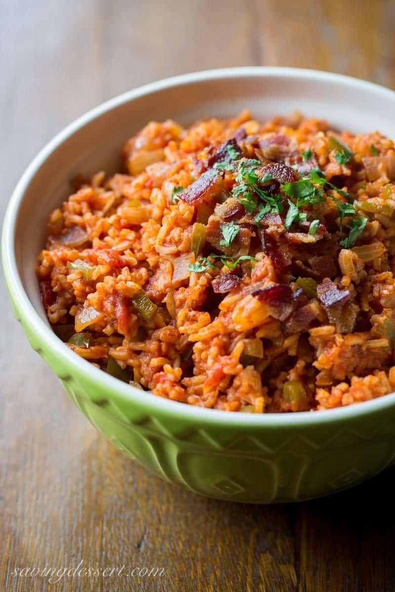 Easy Spanish Rice  Easy Spanish Rice Recipe Saving Room for Dessert