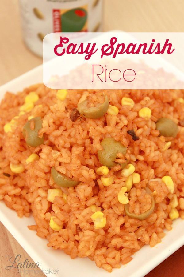 Easy Spanish Rice  Easy Spanish Rice Recipe