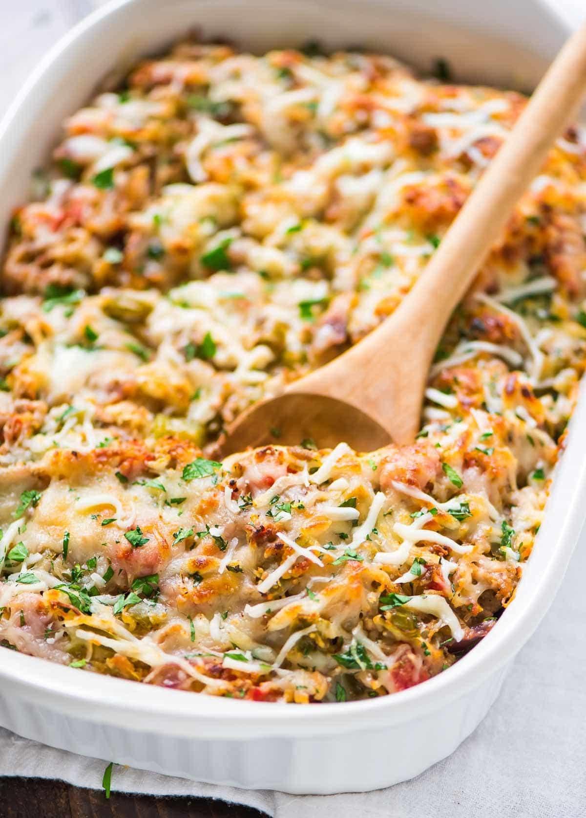 Easy Squash Casserole  Spaghetti Squash Casserole