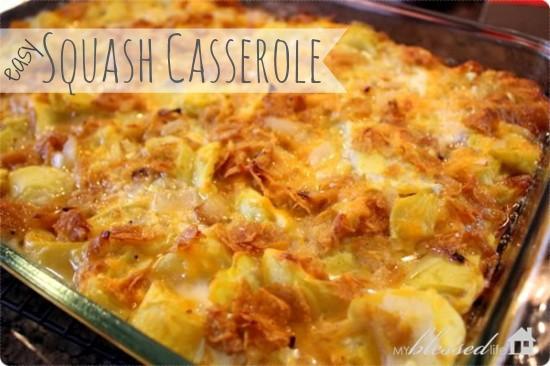 Easy Squash Casserole  Squash Casserole