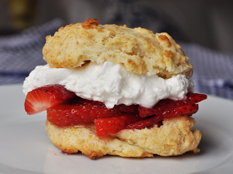 Easy Strawberry Shortcake Recipe  Best Quick and Easy Strawberry Shortcakes Recipe