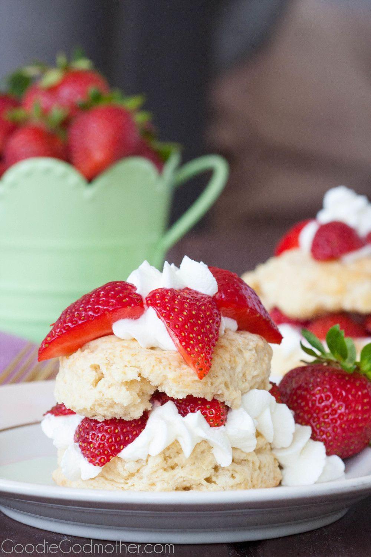 Easy Strawberry Shortcake Recipe  Strawberry Shortcake Recipe Goo Godmother A Recipe