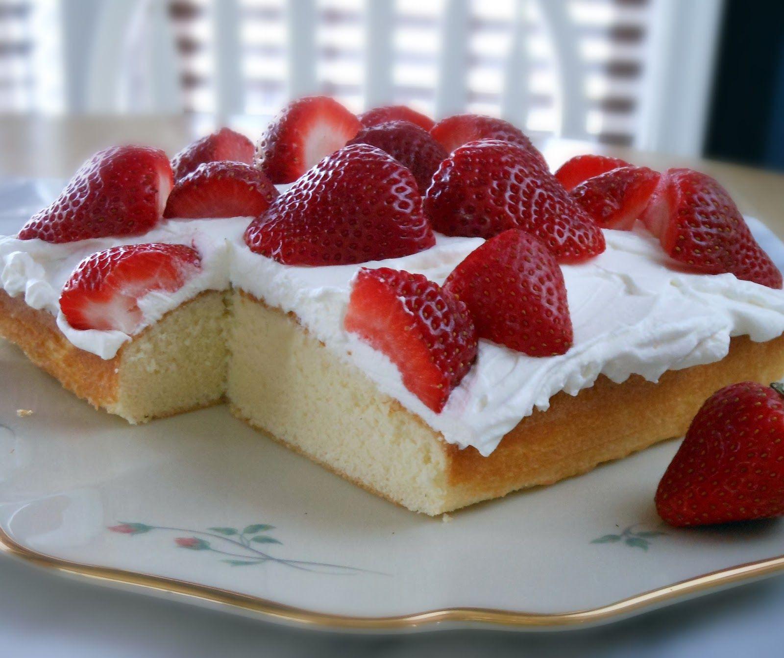 Easy Strawberry Shortcake Recipe  Easy Strawberry Shortcake