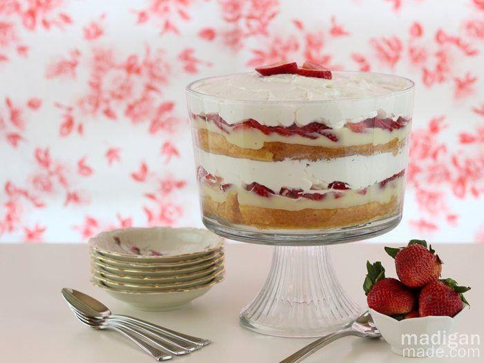 Easy Strawberry Shortcake Recipe  Easy Strawberry Shortcake Recipe Madigan Made simple