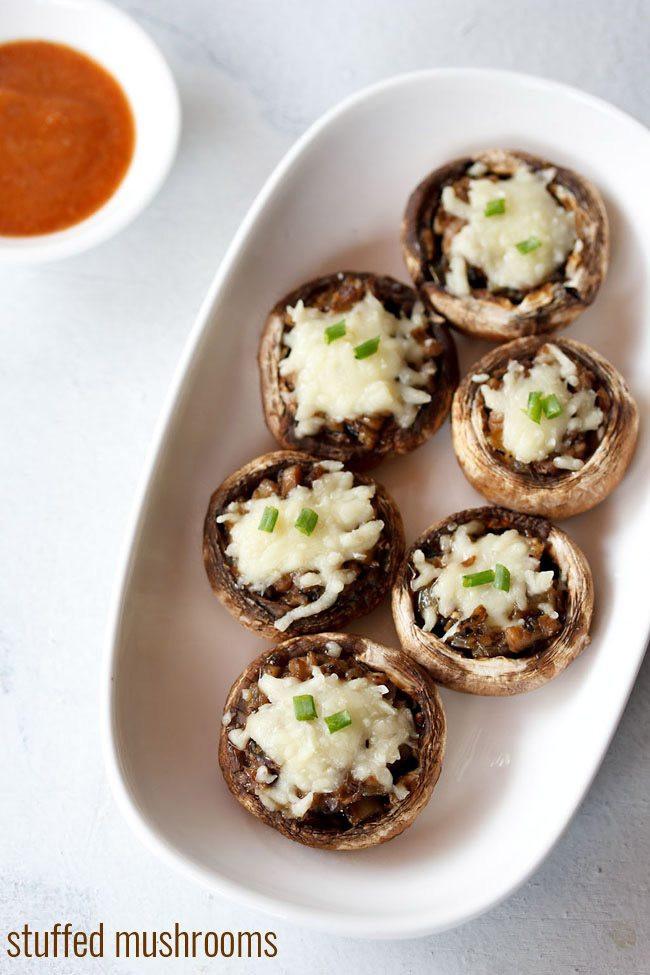 Easy Stuffed Mushroom Recipe  easy recipe stuffed mushrooms