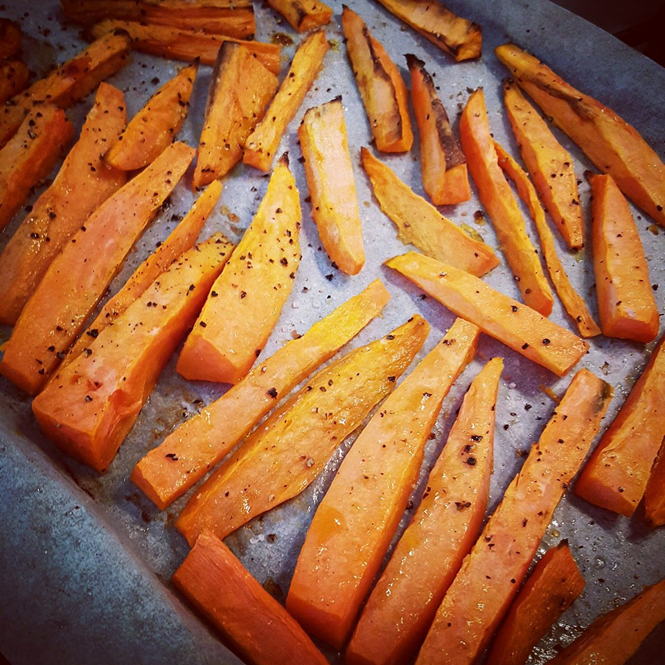 Easy Sweet Potato Fries  Easy Crispy Sweet Potato Fries