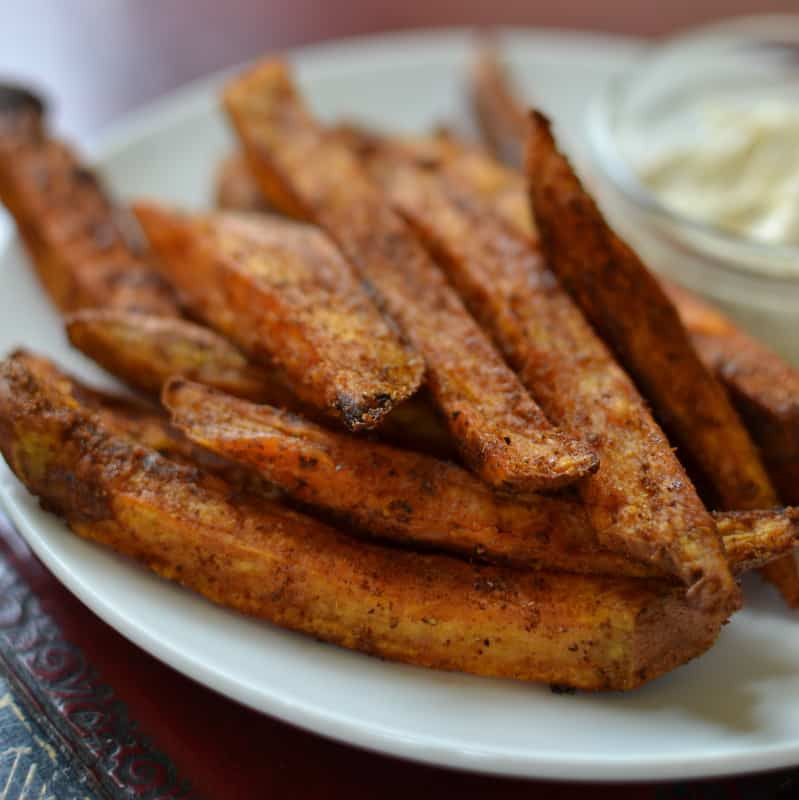 Easy Sweet Potato Fries  Easy Baked Sweet Potato Fries
