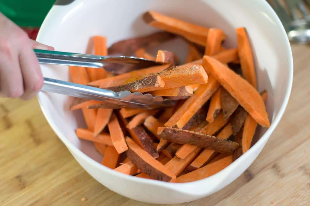 Easy Sweet Potato Fries  Easy Homemade Baked Sweet Potato Fries Recipe