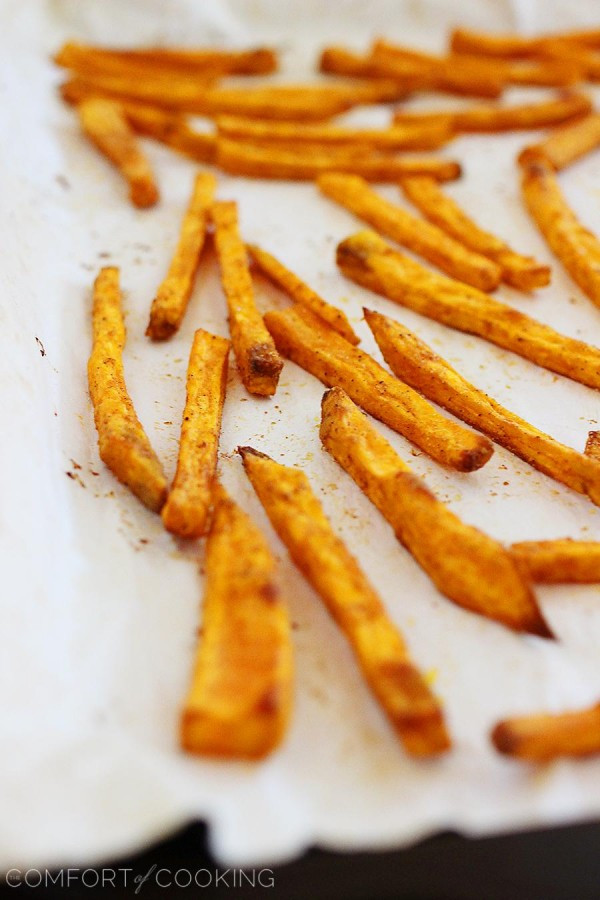 Easy Sweet Potato Fries  Crispy Baked Sweet Potato Fries