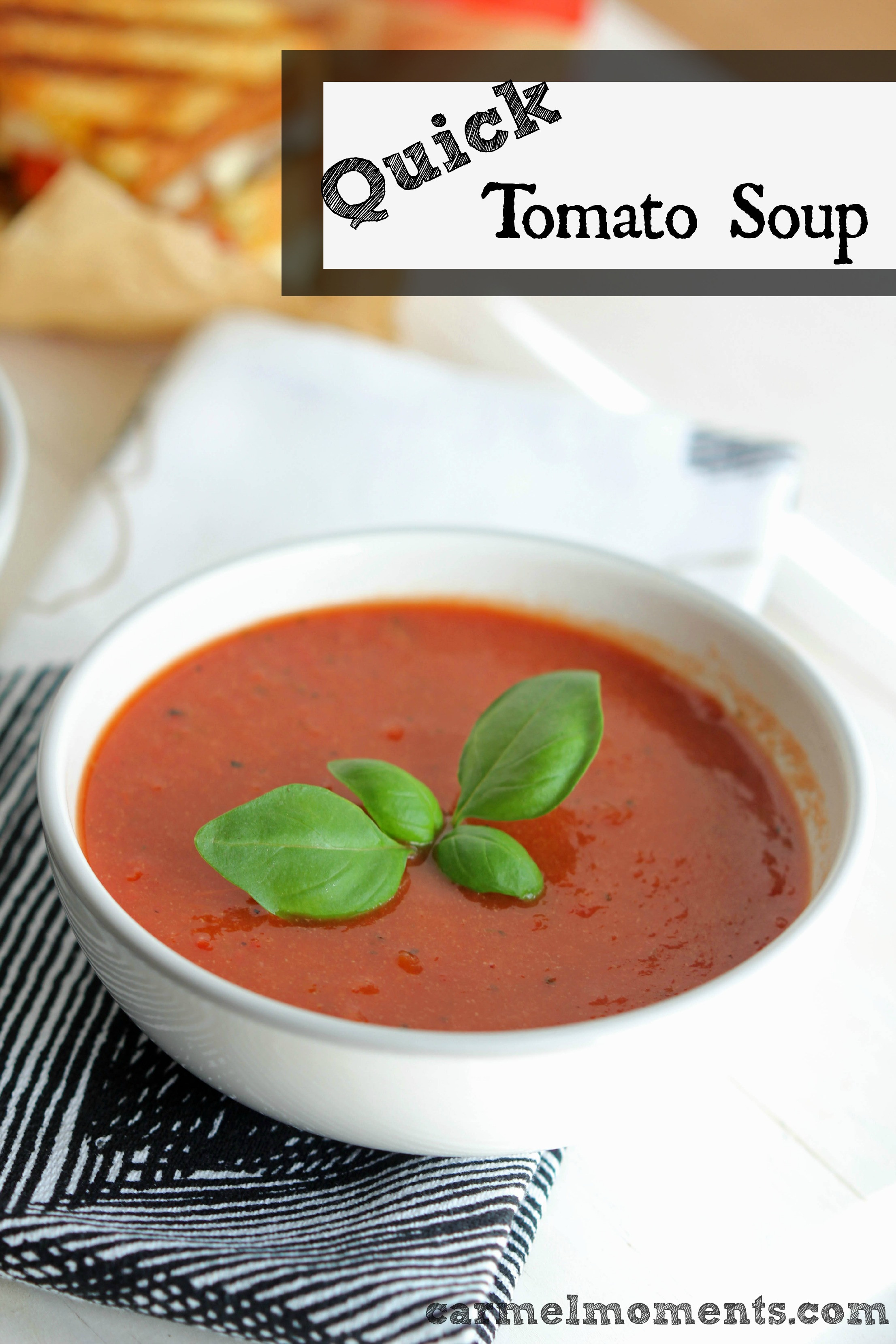 Easy Tomato Soup  Quick and easy Tomato Soup