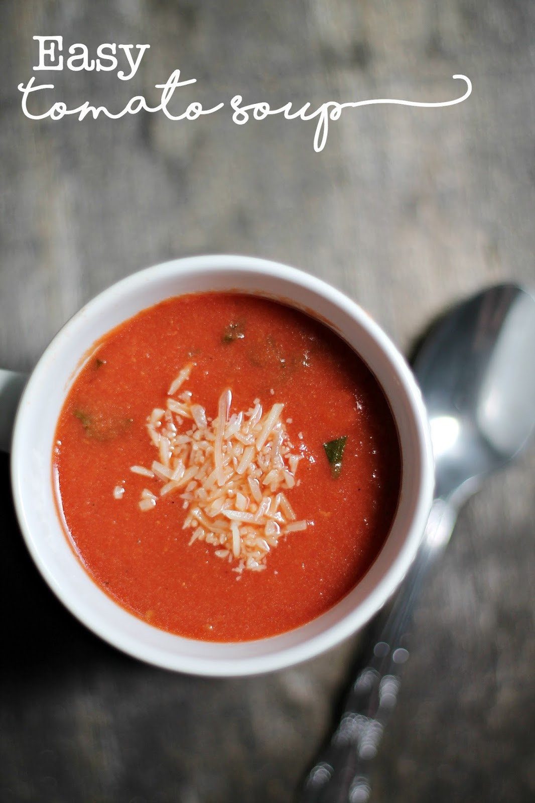 Easy Tomato Soup  Easy Tomato Soup Louisiana Bride