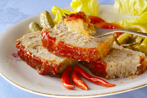 Easy Turkey Meatloaf  Tonight s Dinner Easy Turkey Meatloaf