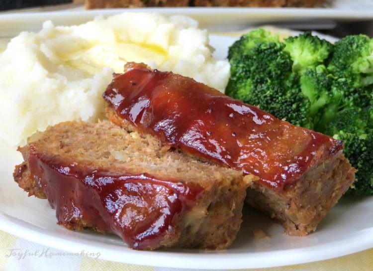 Easy Turkey Meatloaf  Easy Turkey Meatloaf Joyful Homemaking