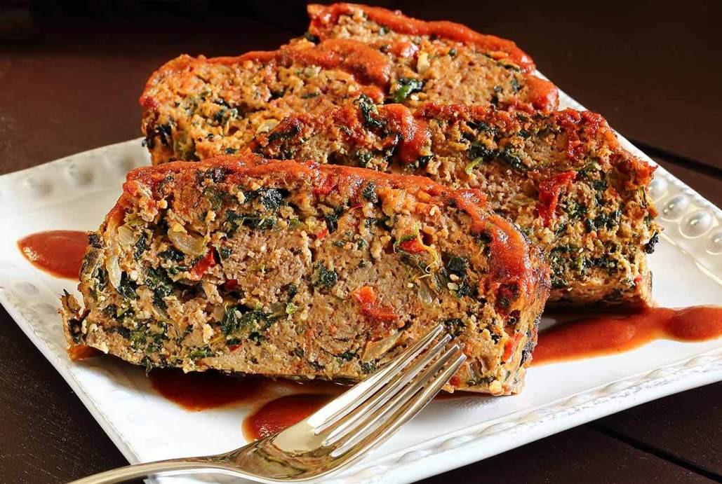 Easy Turkey Meatloaf  Easy Paleo Meatloaf Recipe with Veggies