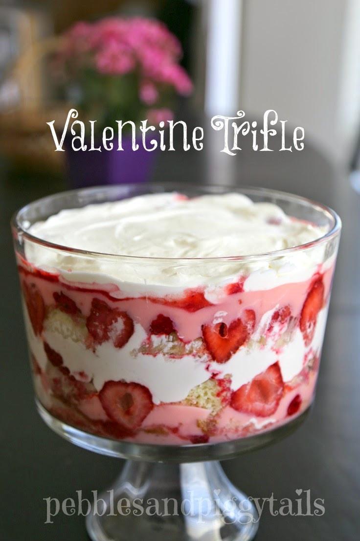 Easy Valentine Desserts  Easy Valentine Trifle Dessert