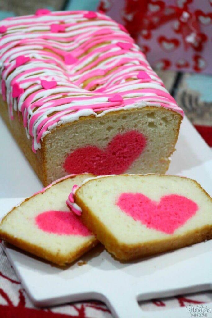 Easy Valentine Desserts  Easy Valentine s Day Dessert Vanilla Strawberry Heart