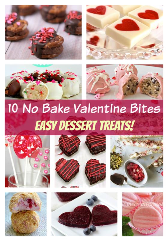 Easy Valentine Desserts  10 Easy No Bake Valentine Desserts Deja Vue Designs