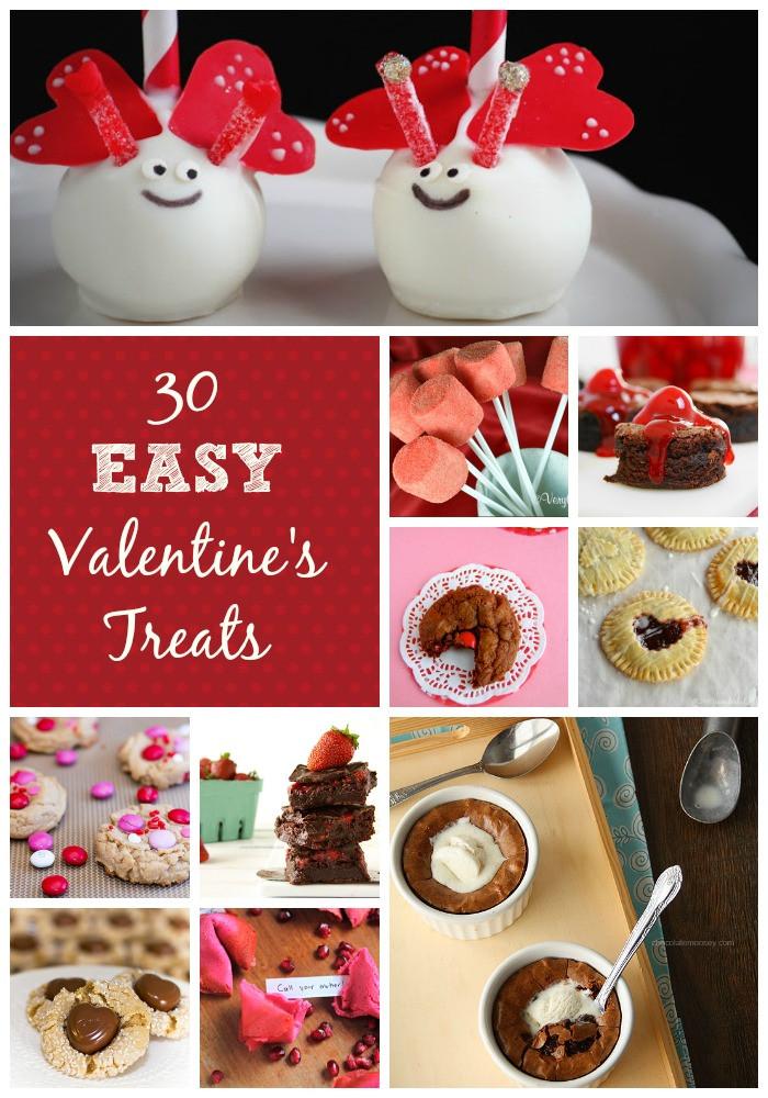 Easy Valentine Desserts  30 Easy Valentine s Day Desserts