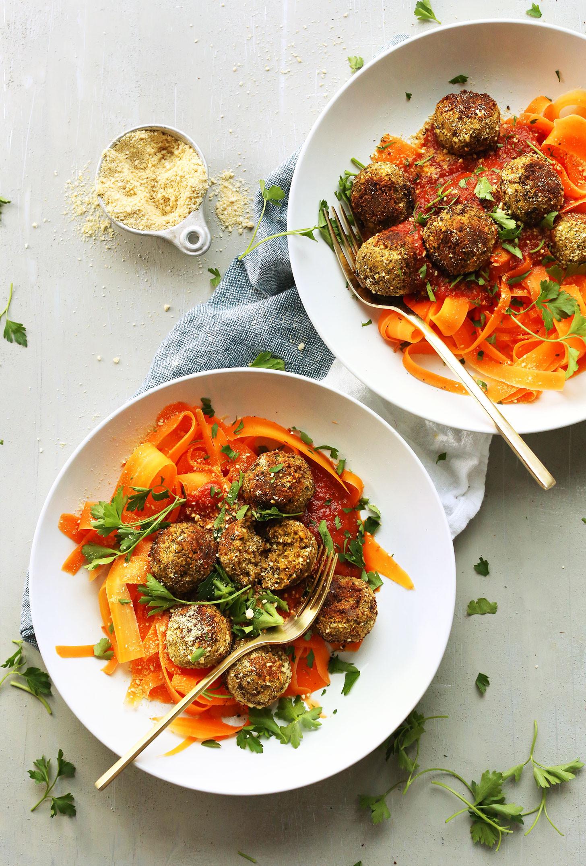Easy Vegan Dinner  Easy Lentil Meatballs Vegan GF