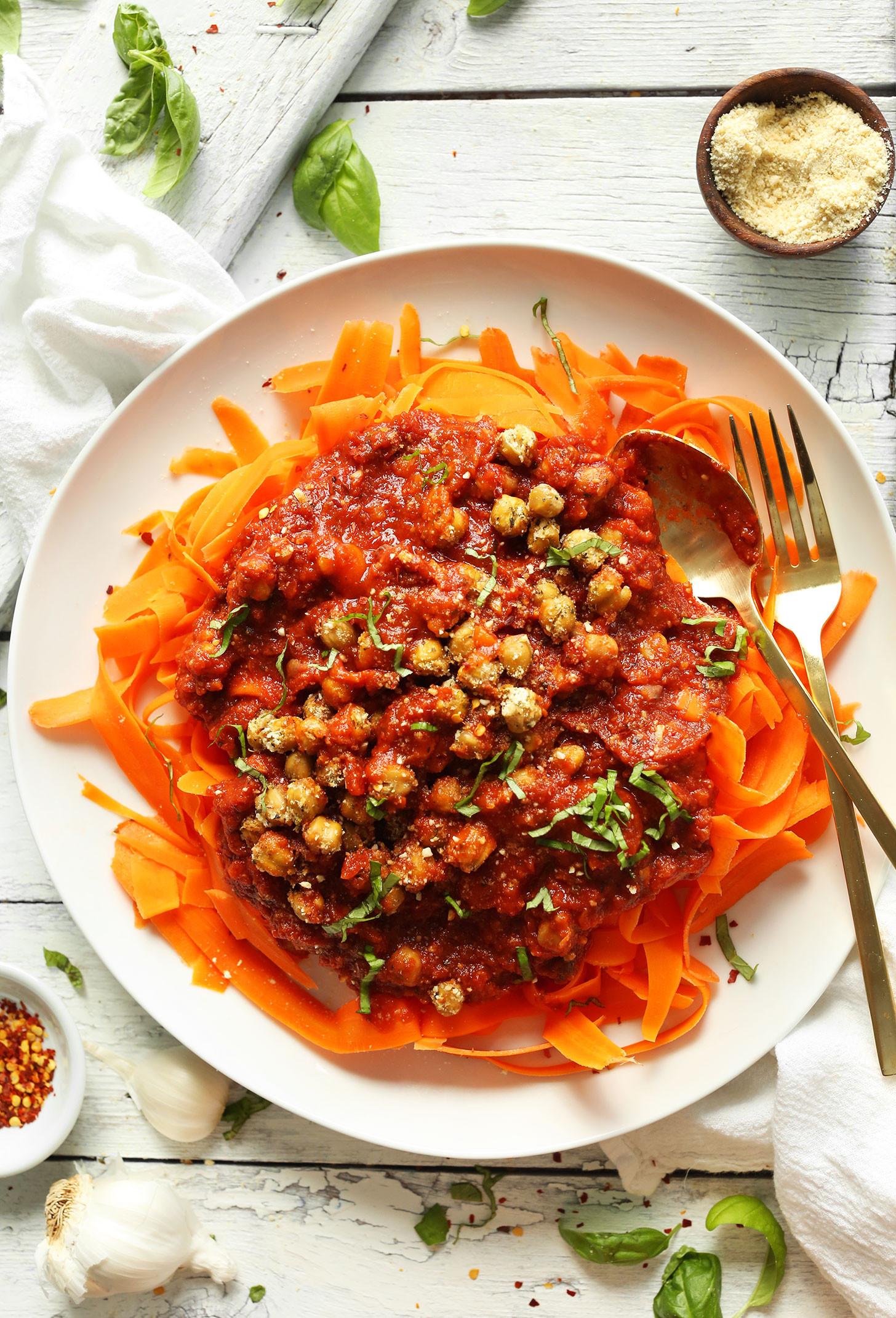 Easy Vegan Dinner  30 Days of Vegan Lunches