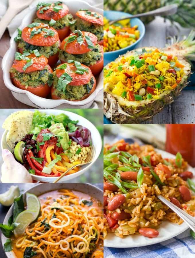 Easy Vegetarian Dinners  35 Easy Vegan Weeknight Dinners Vegan Heaven