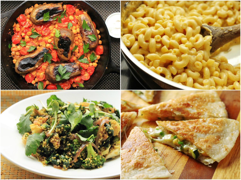 Easy Vegetarian Dinners  15 Easy e Pot Ve arian Dinners