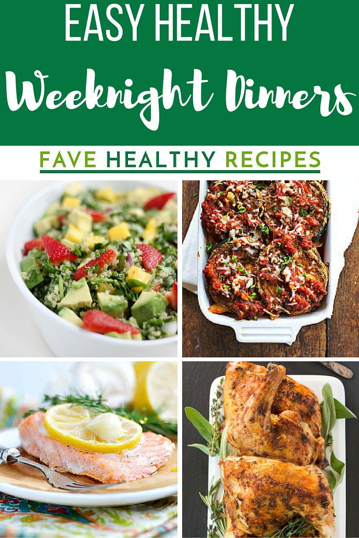 Easy Weeknight Dinners For Two  30 Easy Healthy Weeknight Dinners