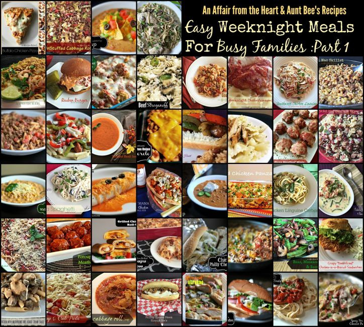 Easy Weeknight Dinners For Two  Easy Weeknight Meals for Busy Families Part e