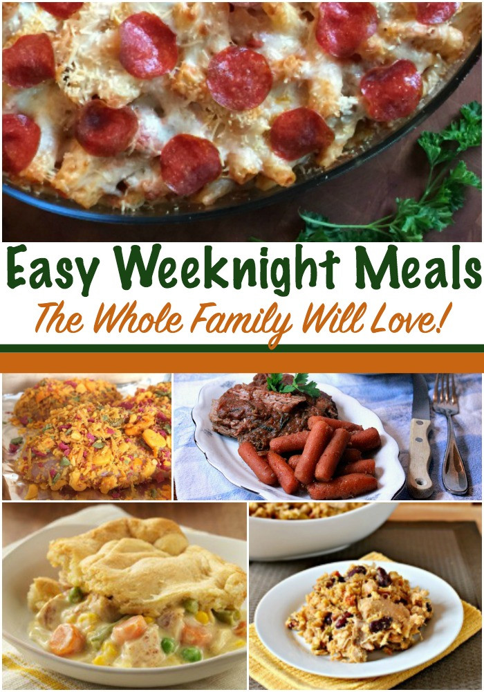 Easy Weeknight Dinners For Two  Back to School Meal Plan Method Beauty through imperfection