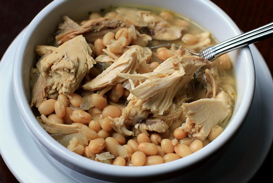 Easy White Bean Chicken Chili  Easy Slow Cooker Meals White Bean Chicken Chili Recipe