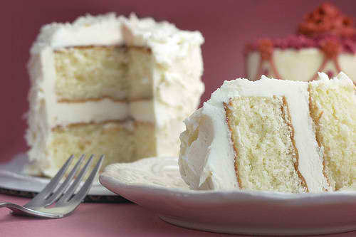 Easy White Cake Recipe  White Velvet Cake
