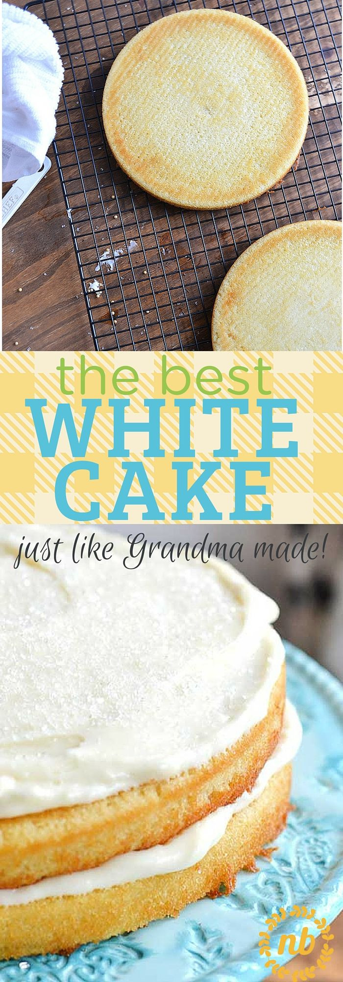 Easy White Cake Recipe  100 White cake recipes on Pinterest
