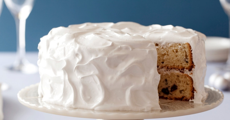 Easy White Cake Recipe  Simple White Cake Recipe — Dishmaps